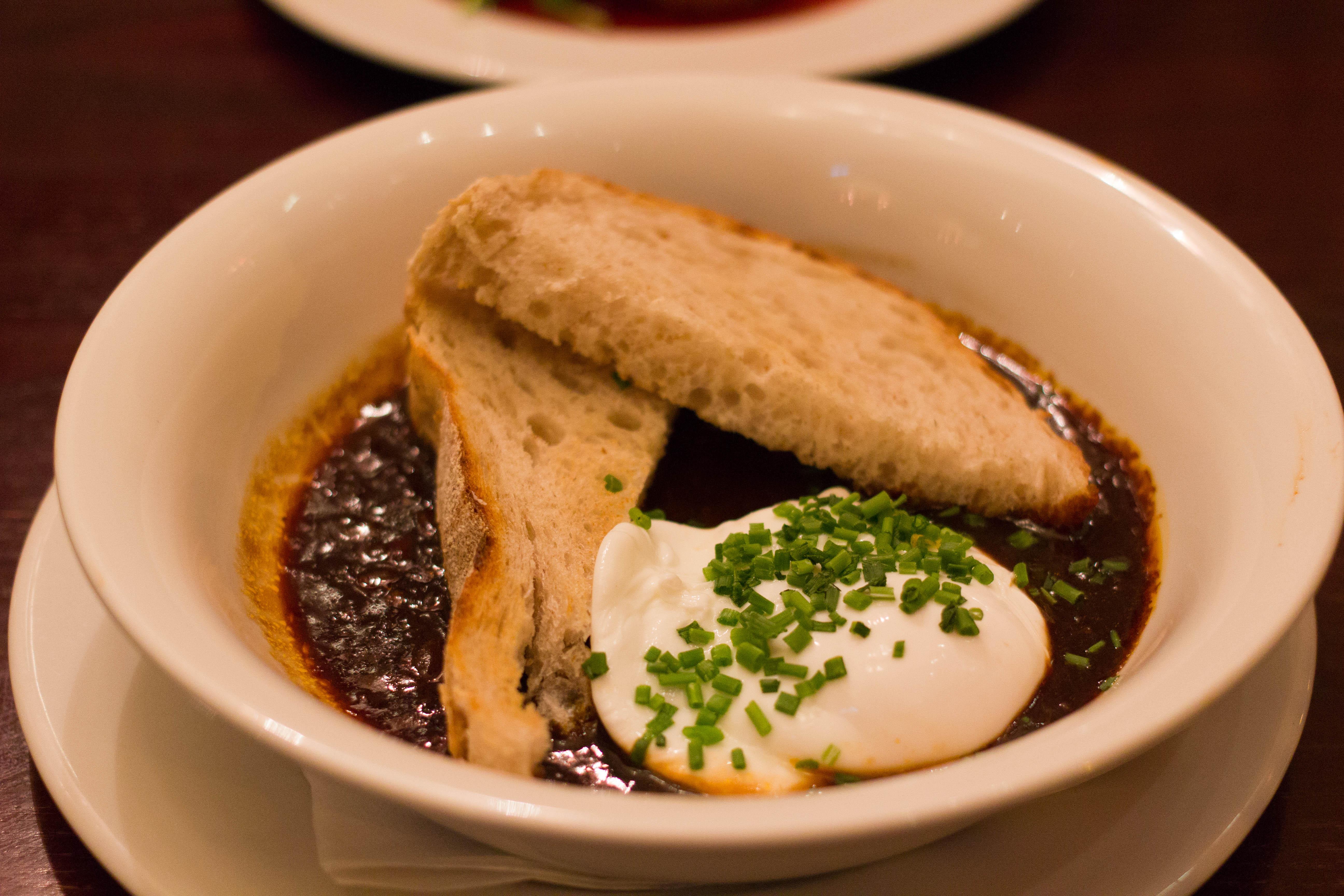 Cafe Rouge Egg Meurette