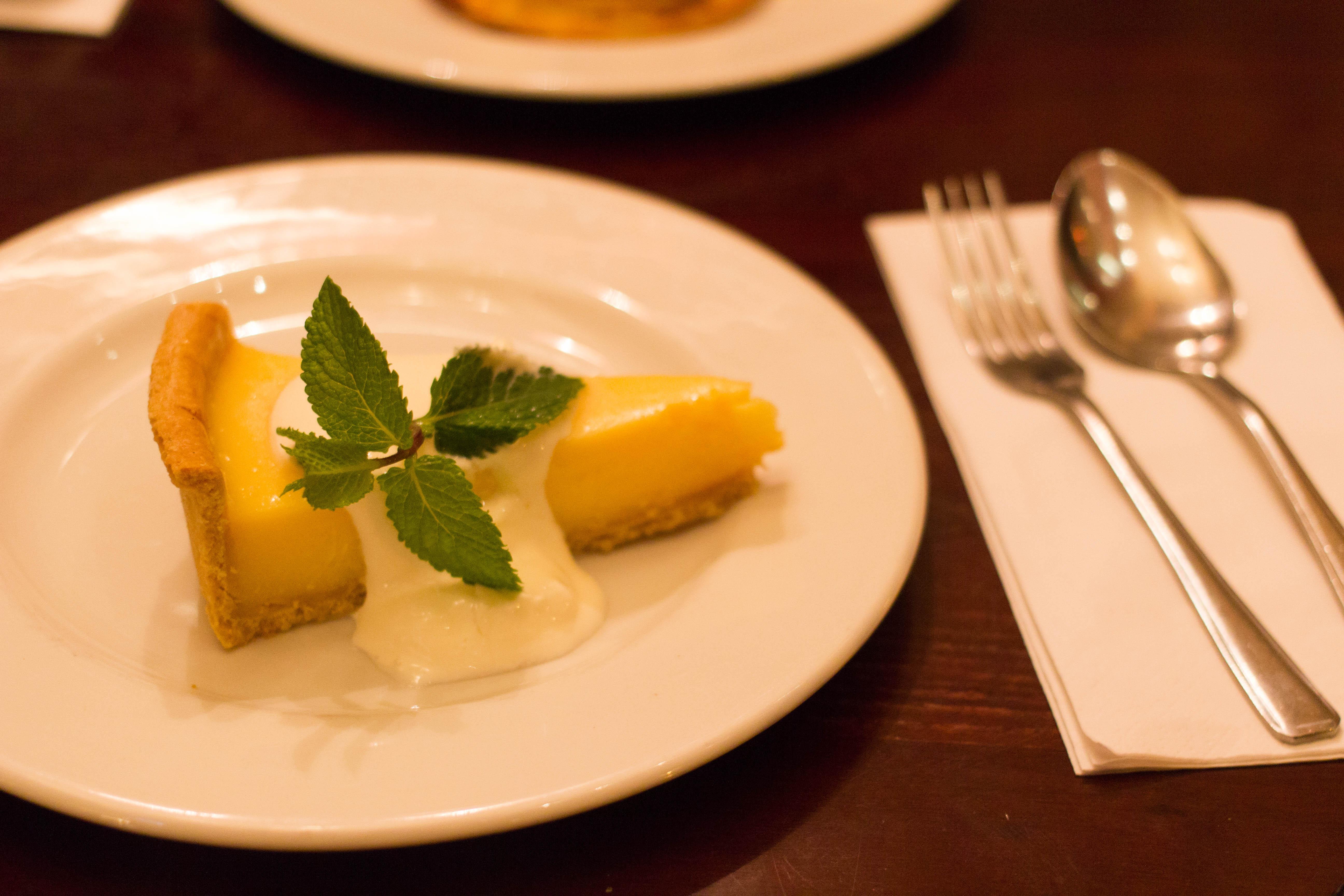 Cafe Rouge Tarte au Citron