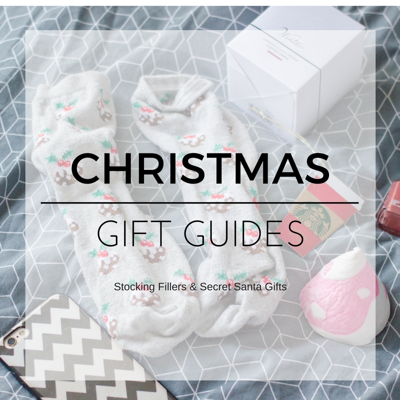 christmas stocking fillers and secret santa gift ideas