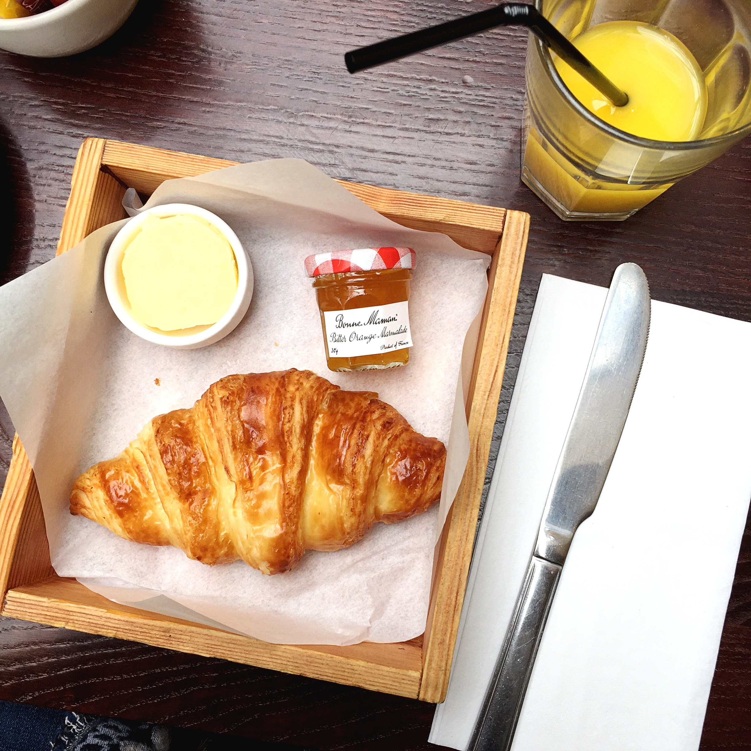 Cafe Rouge Breakfast Croissant